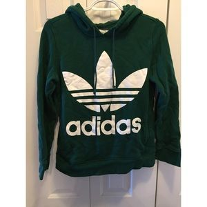 Adidas Forest Green Hoodie